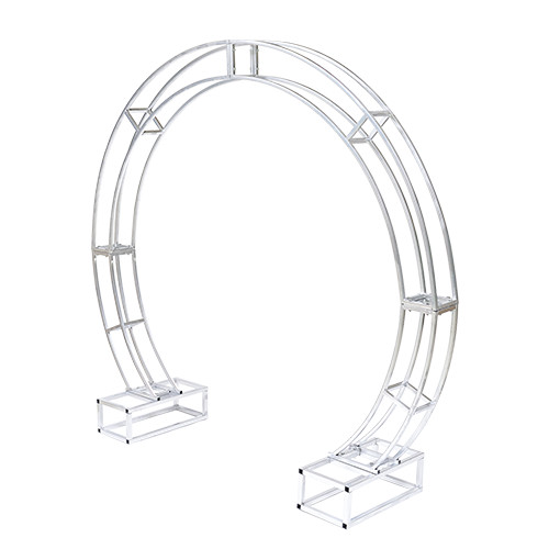 Flower arch frame