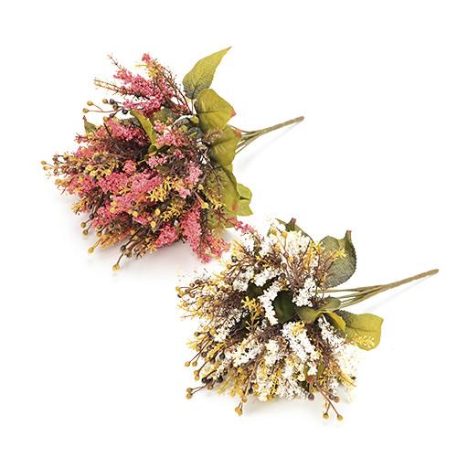 Pink plant / White plant