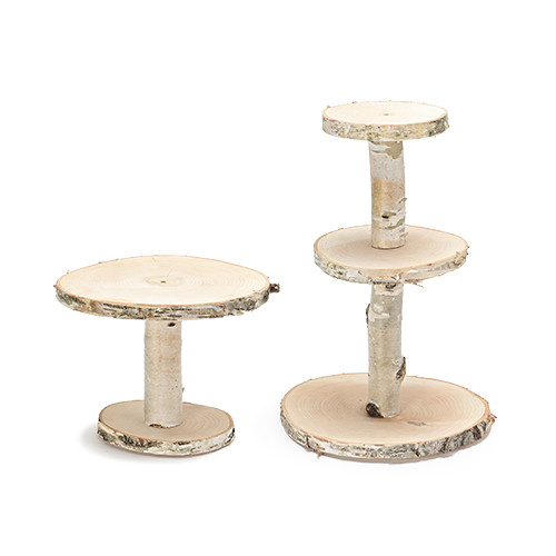 Cake stand (Wood)